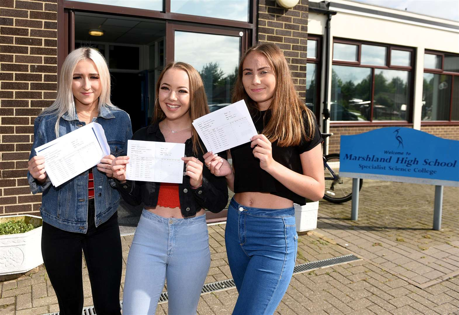 Headteacher of Marshland High School at West Walton is 'delighted' with latest GCSE results