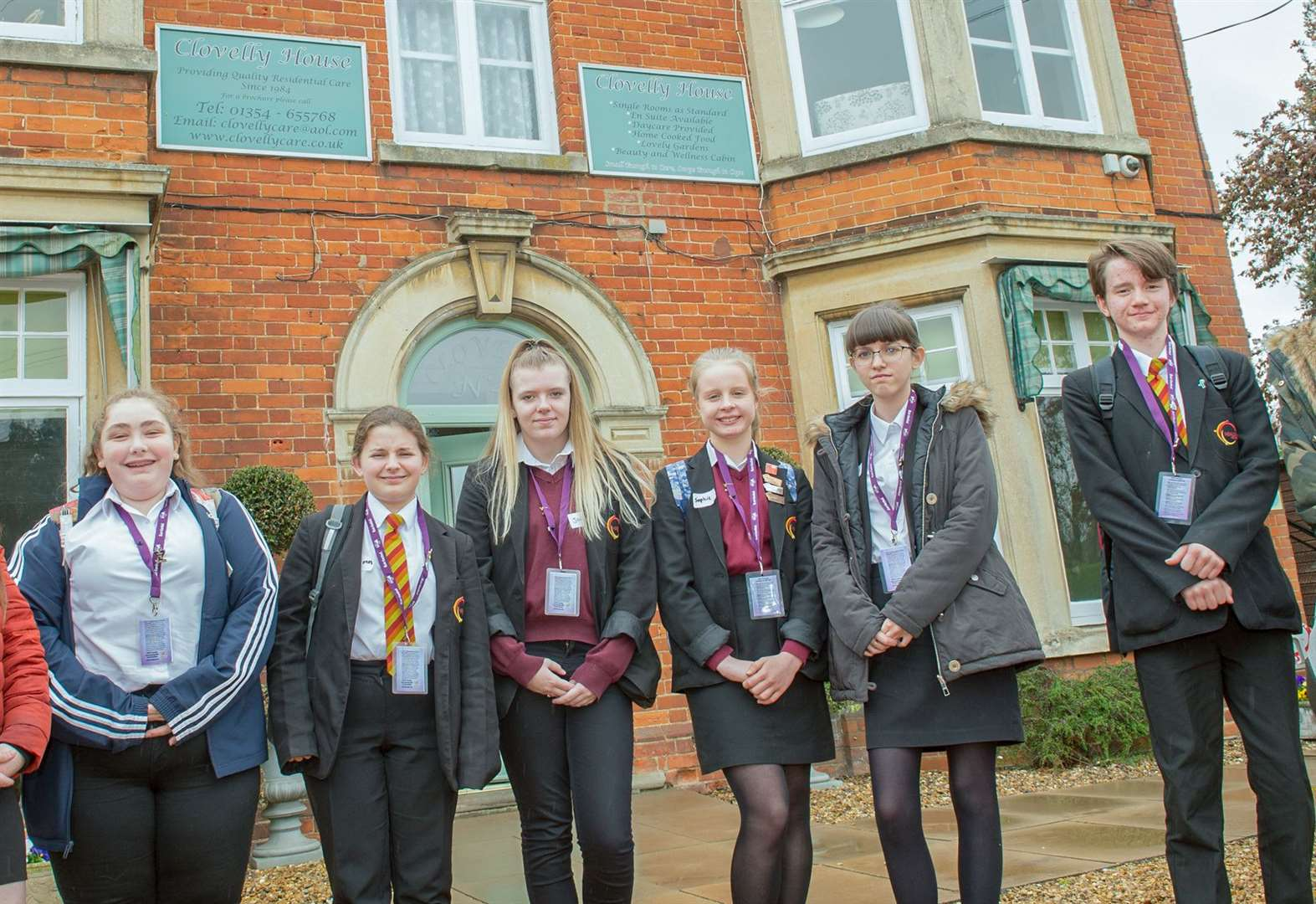 Fenland teens trained to befriend care home residents with dementia
