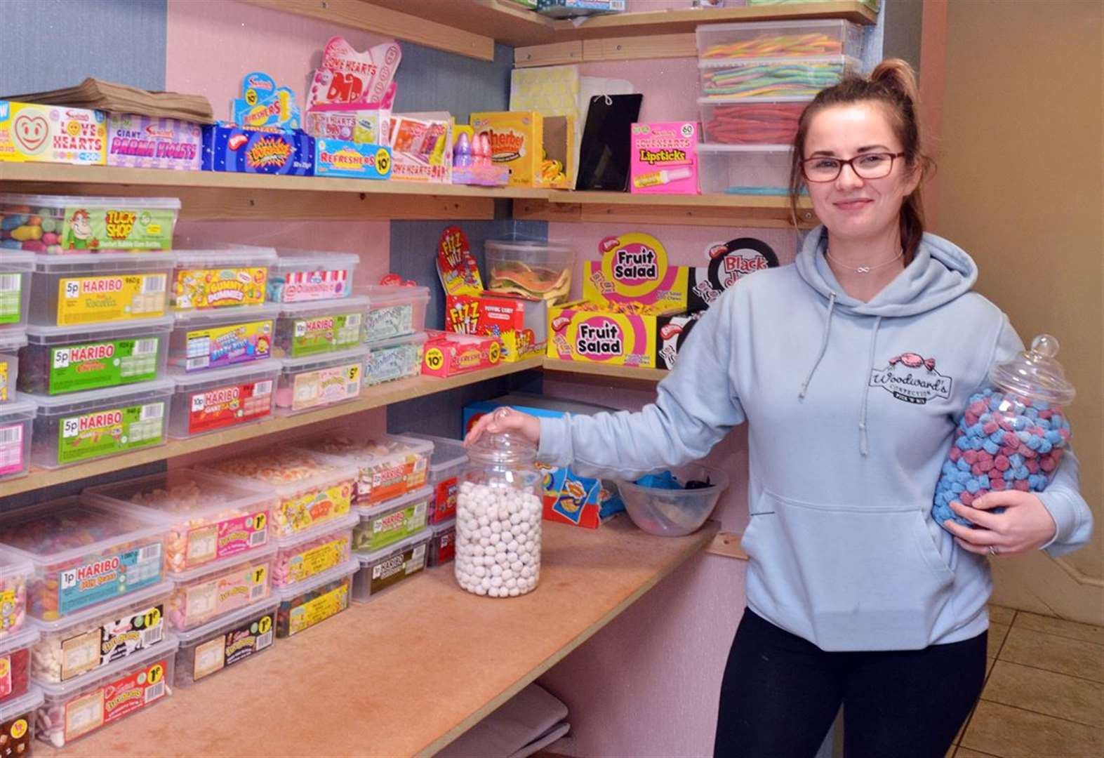 Sweet shop owners suffer abuse after asking people to count their own sweets