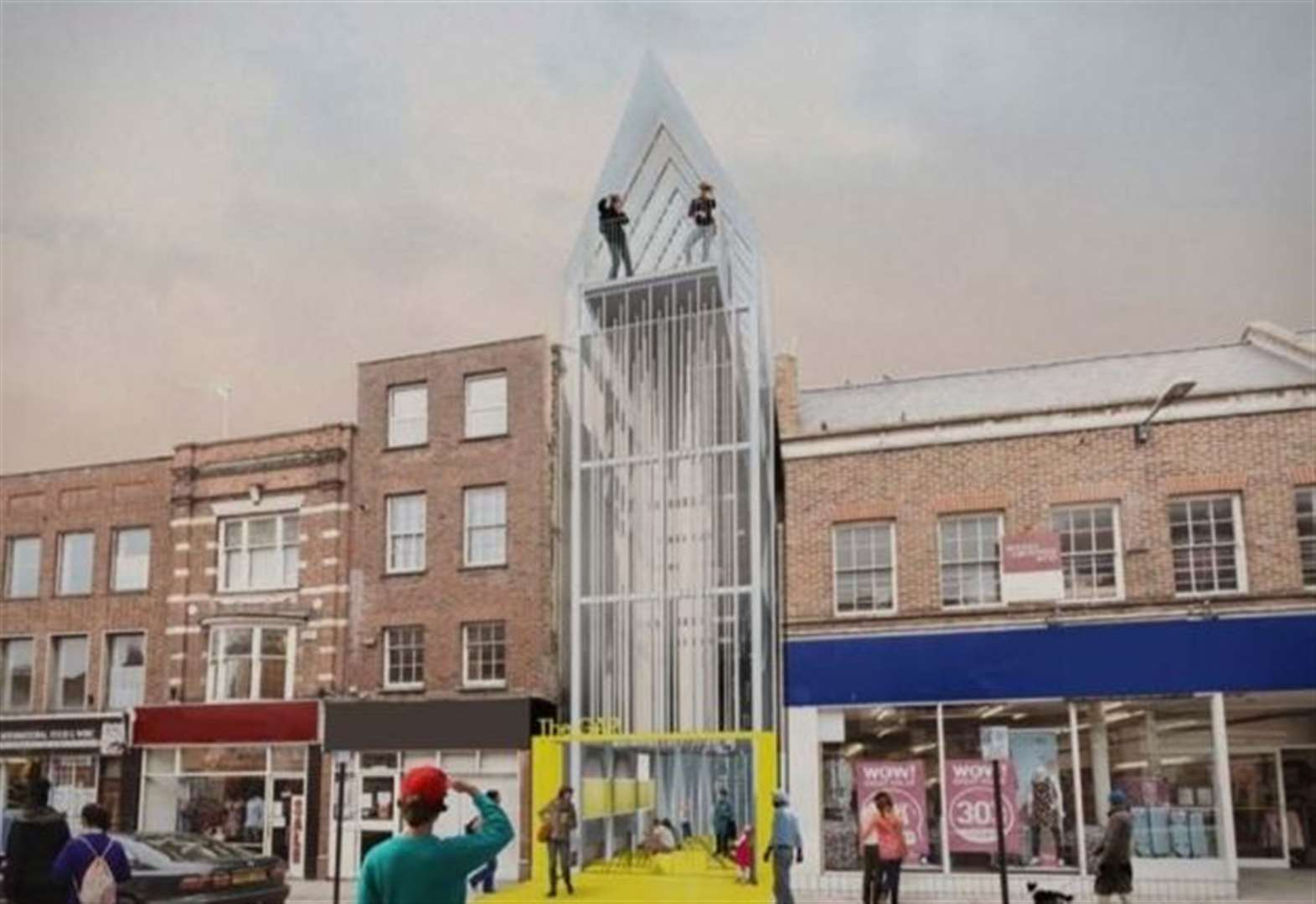 Update on future of Wisbech's 'Marmite' building 'The Gap' could be made after secret debate