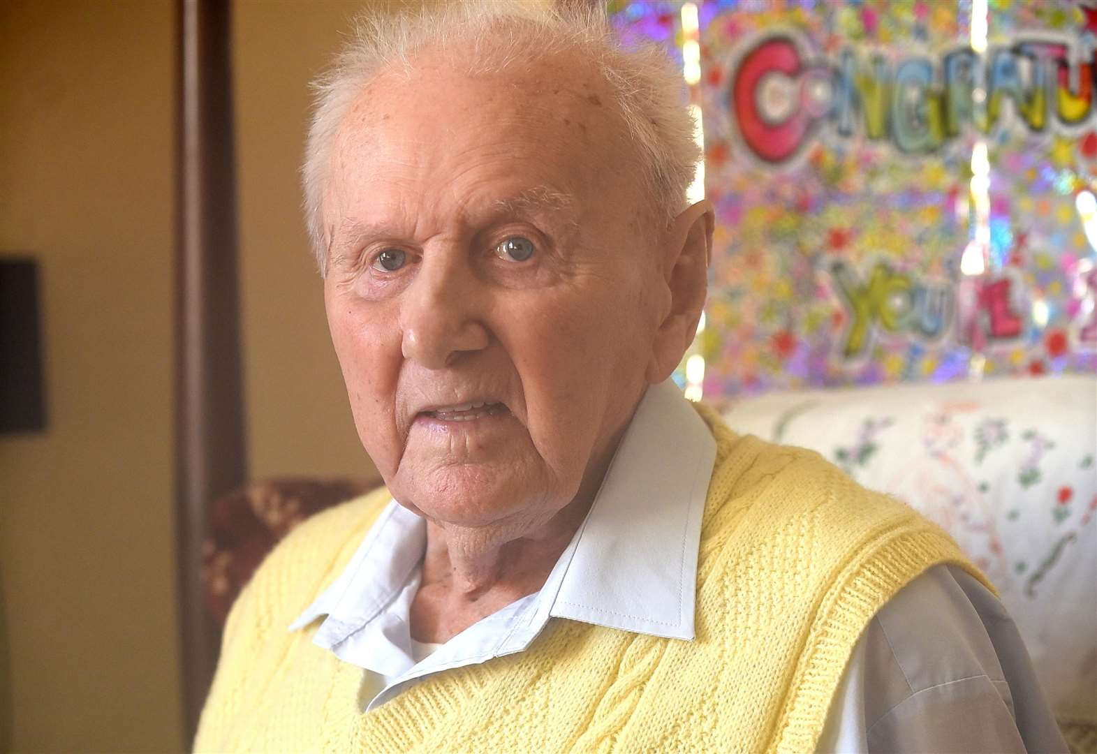 Owen Green a former prisoner of war from Wisbech has celebrated his 100th birthday