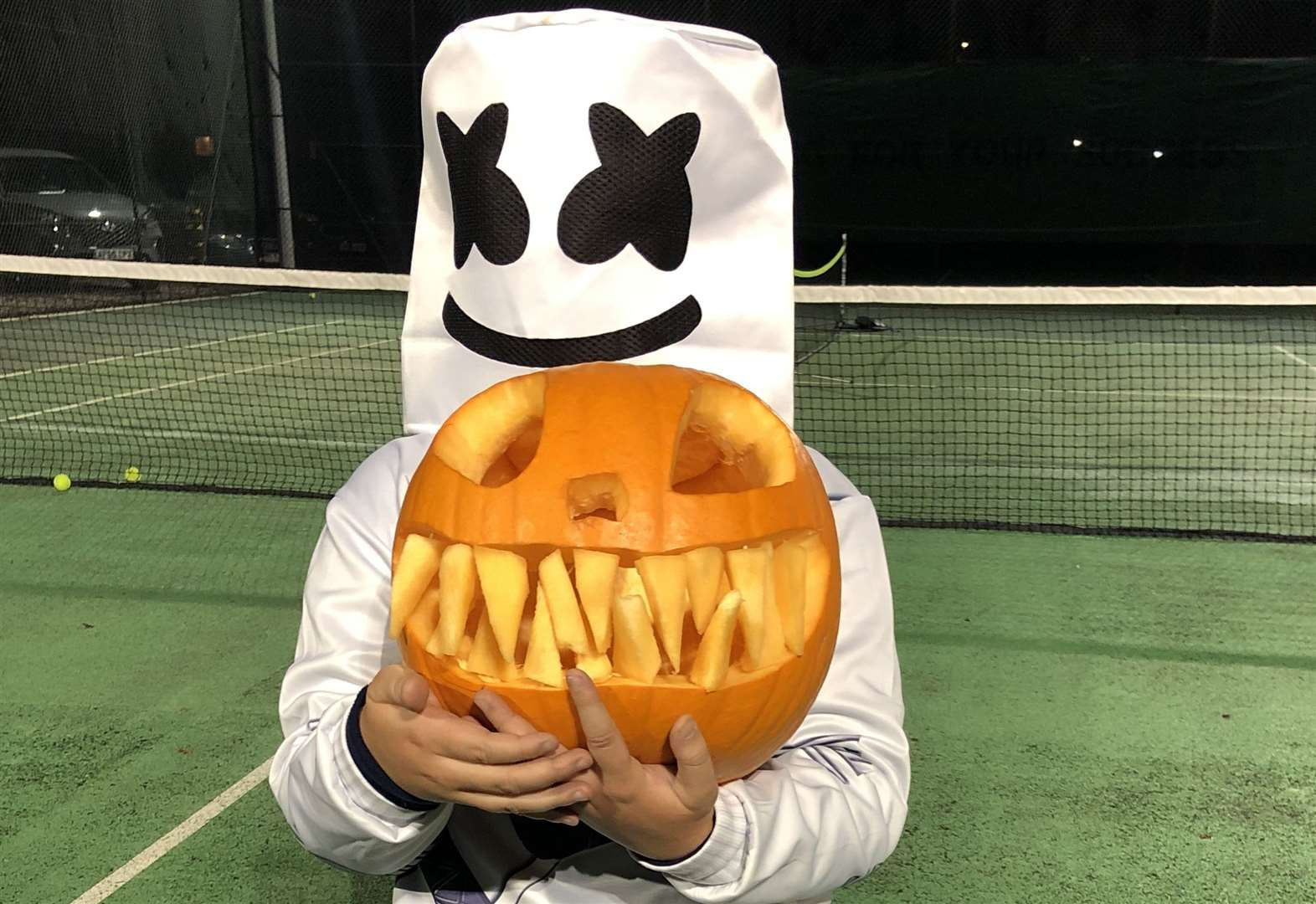 Tennis: Halloween trick shots and treats for Chatteris juniors