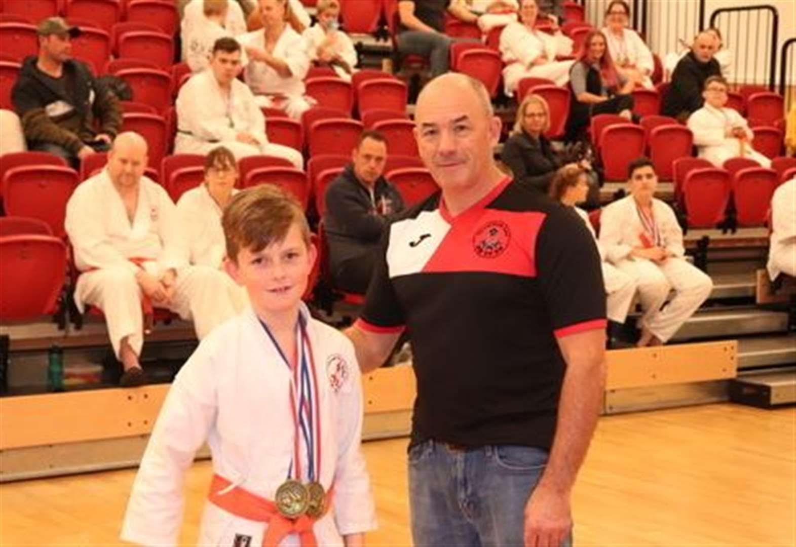 Karate: Robbie, 10, top performer at 2019 championships while duo bag three golds