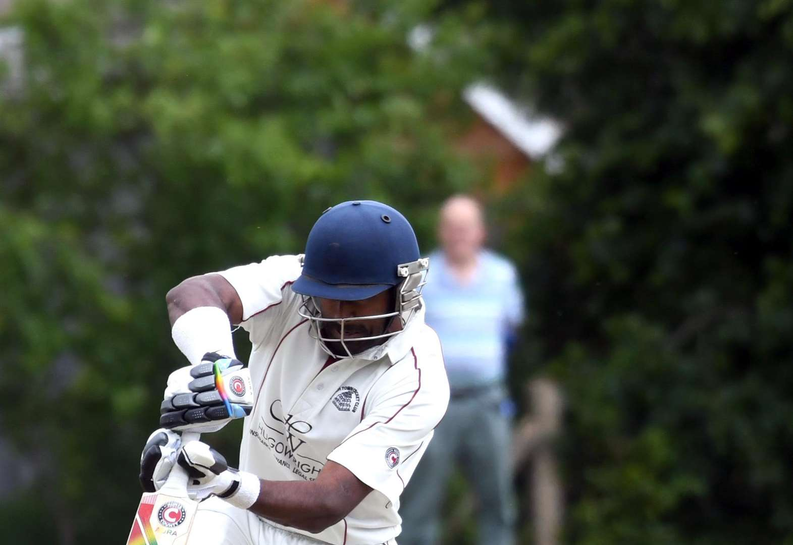 Saranga strikes Cambs League seven for March Town CC