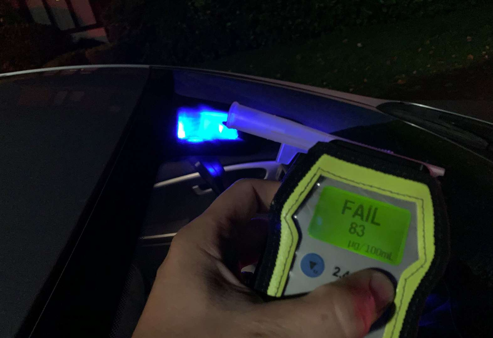 Drink Driver Arrested - Wisbech