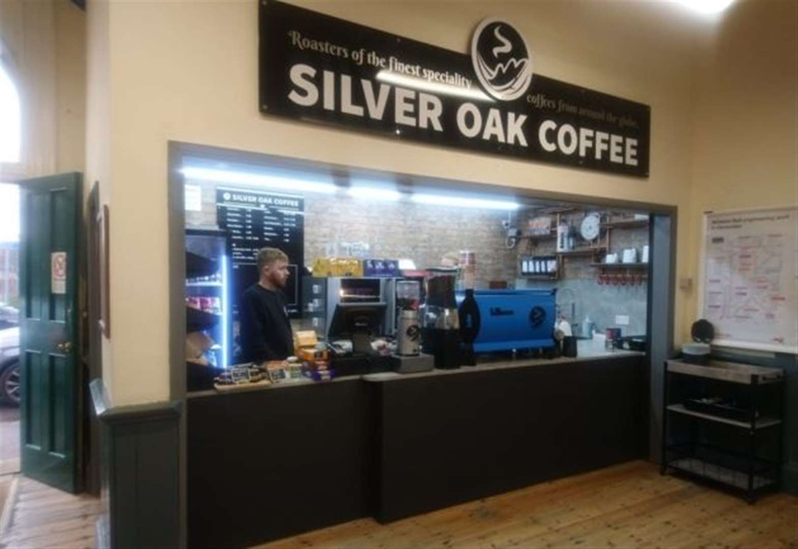 Specialist coffee firm Silver Oak is set to open a shop on March railway station