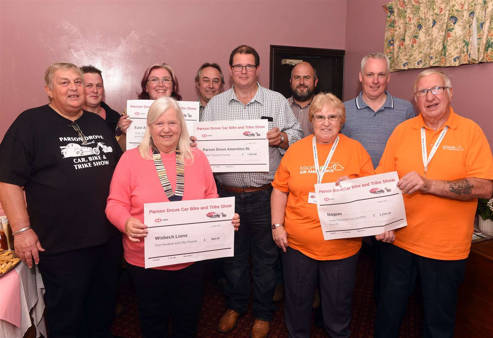 Show's charity cash is handed over