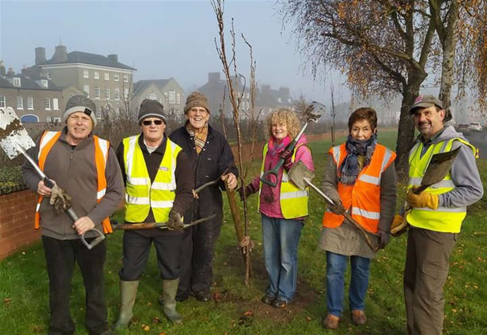 Wisbech volunteers hope trees will blossom next spring