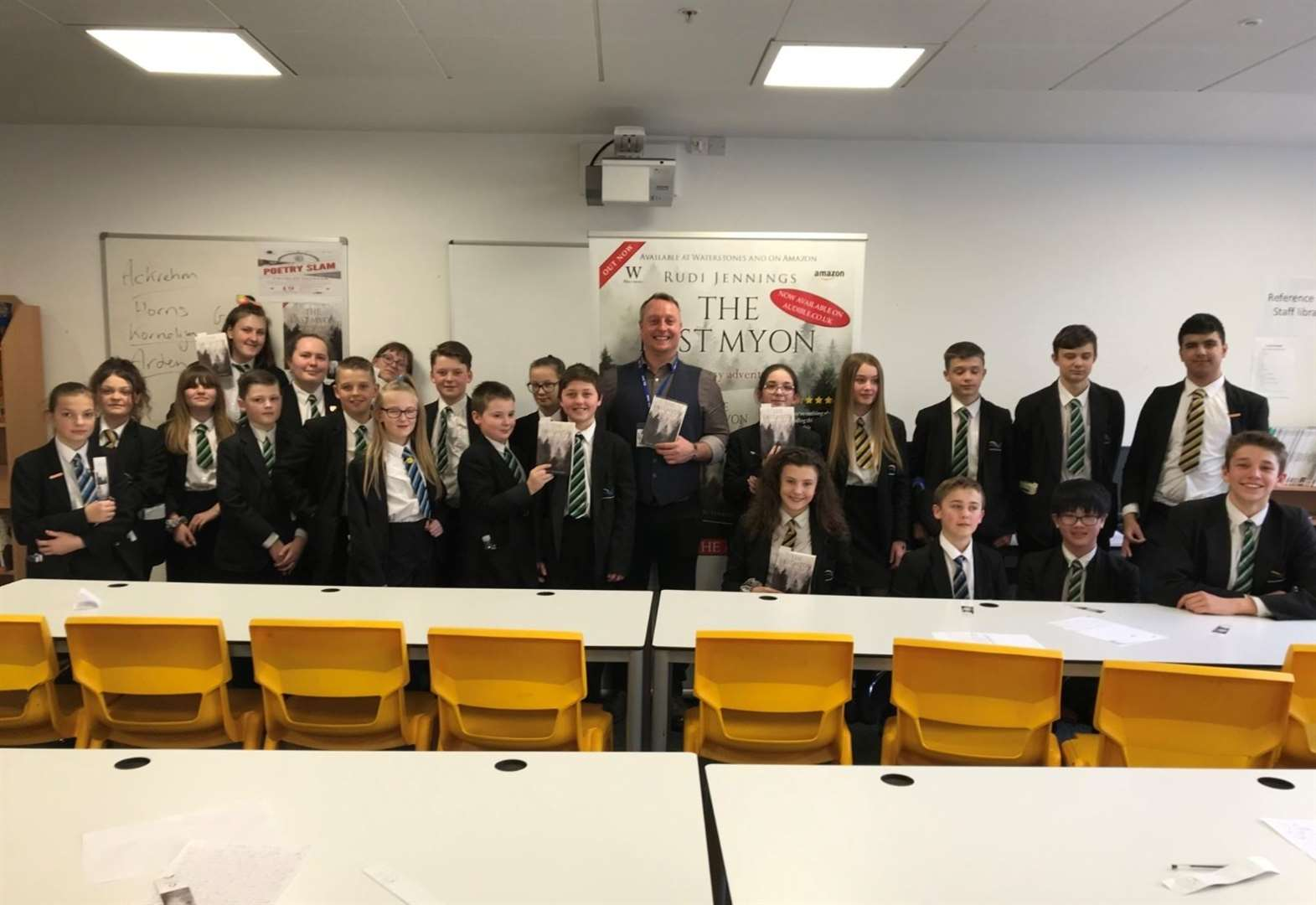 Author visit sparks creativity at Thomas Clarkson Academy in Wisbech