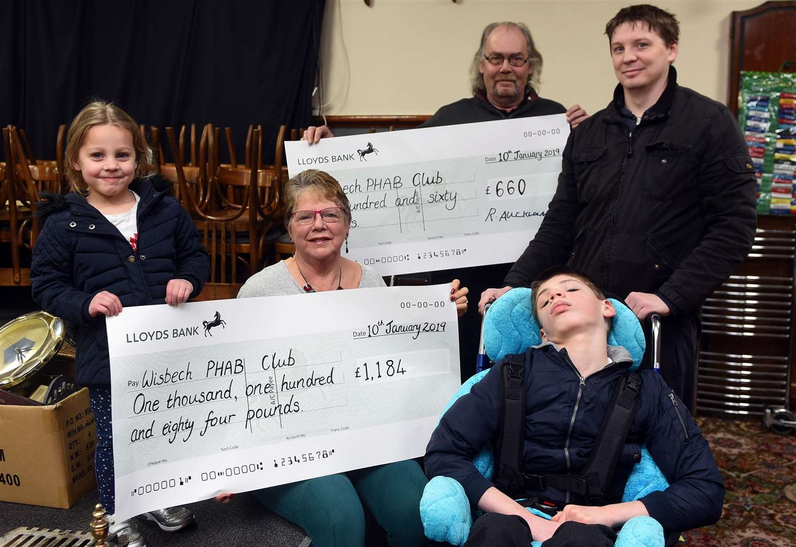 Double boost for March boy Joseph Farmer's sensory garden appeal