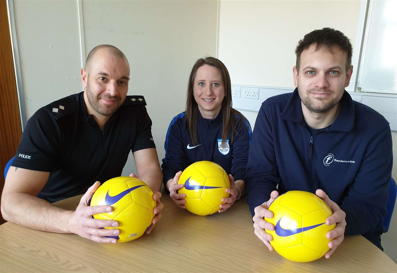 It's free football for boys and girls - and a chance to get sports qualifications