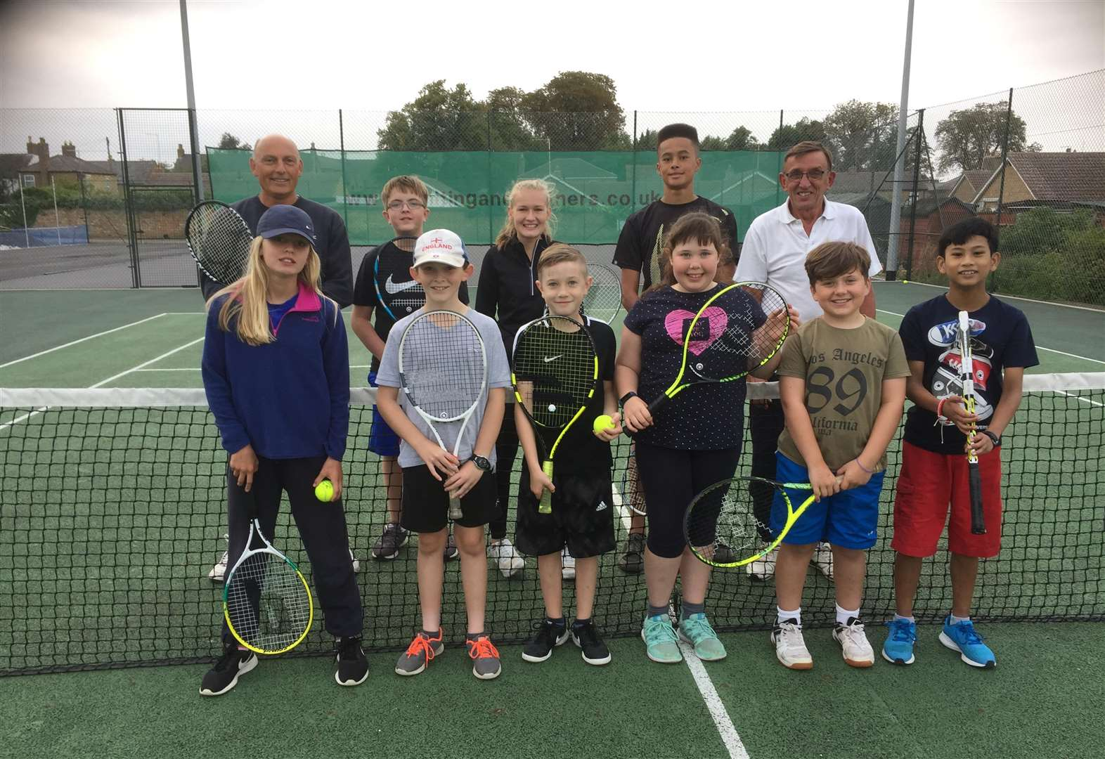 Chatteris club treats its junior tennis members