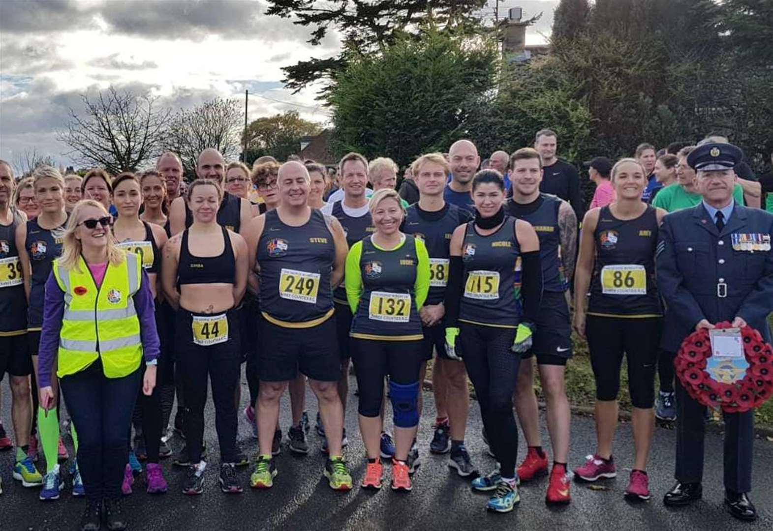 Remembrance Sunday commemorated at Leverington Three Counties Running Club in 10K race tribute to Fallen