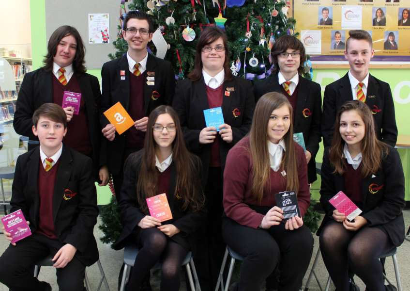Students at the Neale Wade Academy are rewarded for their hard work.