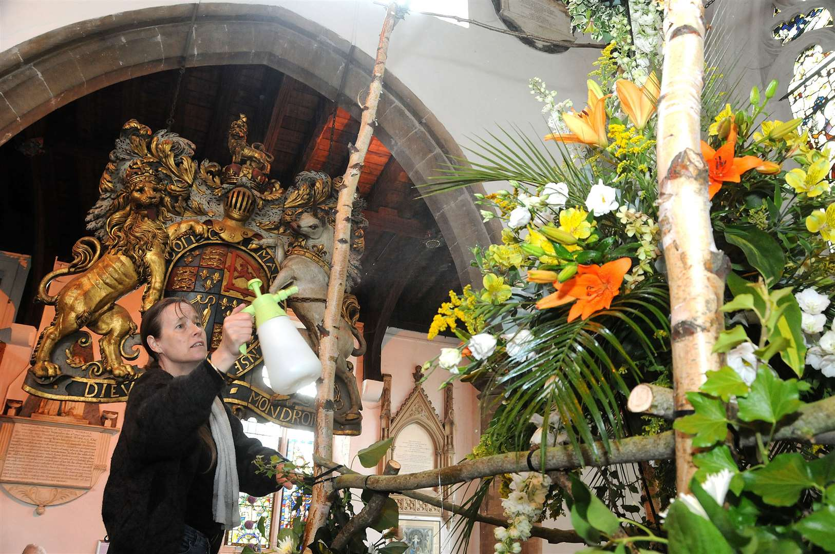 Sadly the Rose Fair flower festival at St Peter's Church, Wisbech has been cancelled this summer.