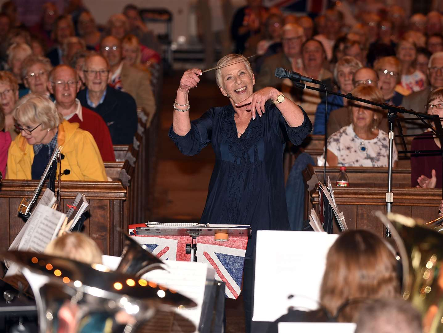Last night of the proms at St Peter's church Wisbech. (16293782)