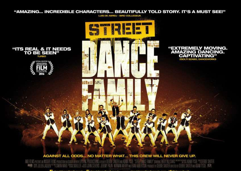 Tickets are available for STREETDANCE FAMILY only in selected cinemas and you must book in advance to secure your screening. To find your local screening, visit www.streetdancefamilymovie.com/screenings