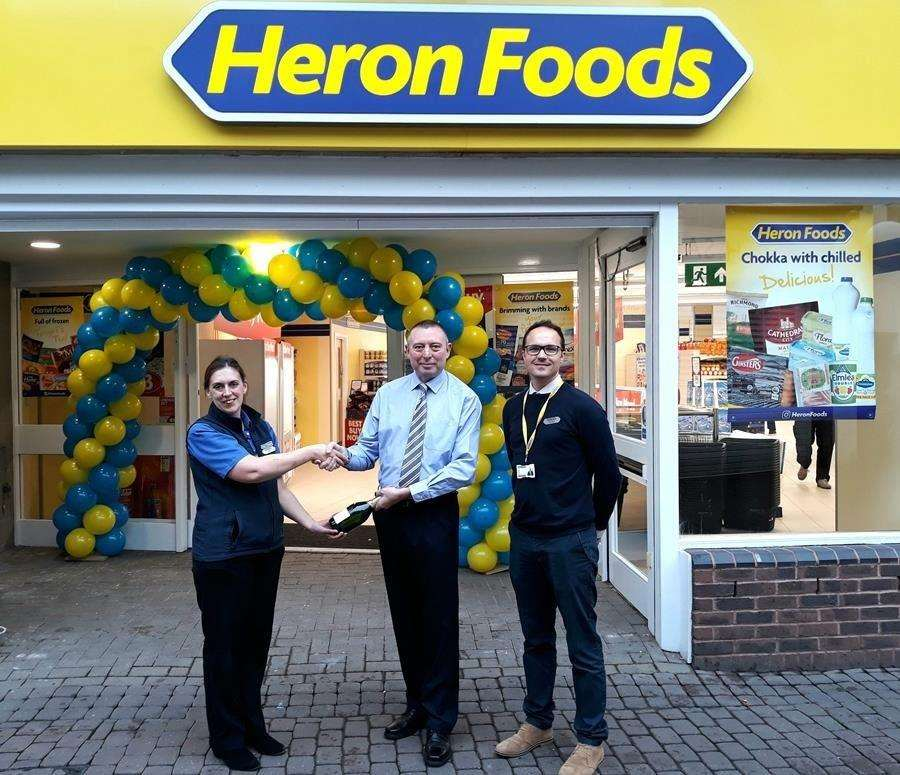 Heron Foods has opened in the Horsefair Shopping Centre in Wisbech. (4605333)