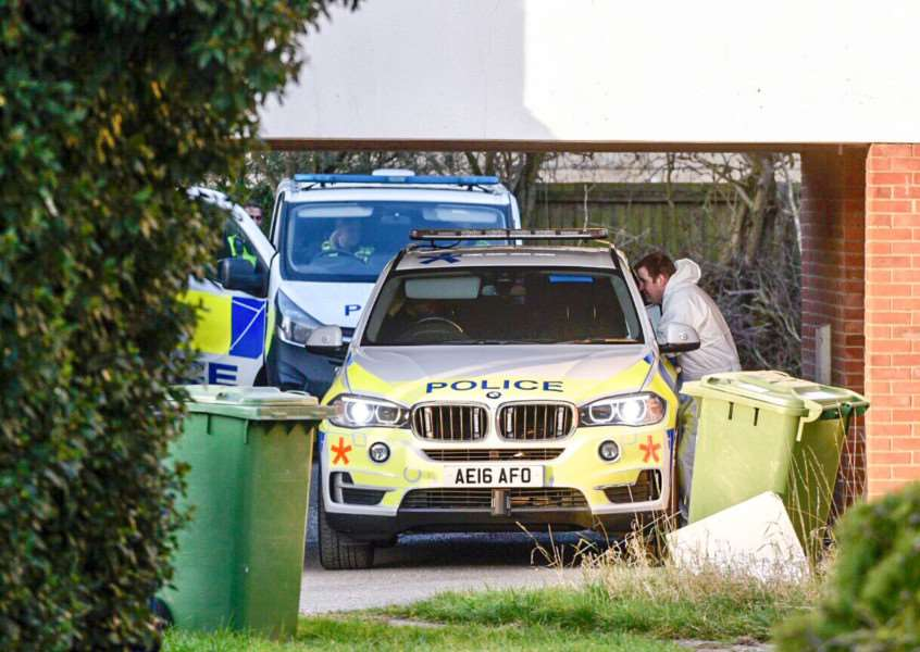 House in Mayfly Close, Chatteris has been raided in connection with Sam Mechelewski murder investigation