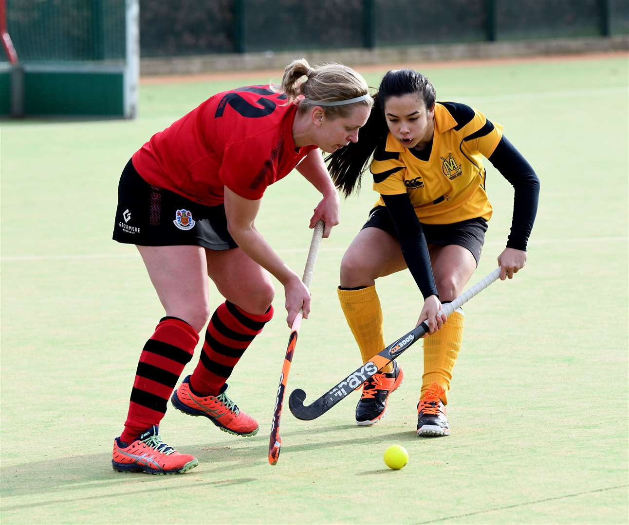 Wisbech Ladies 2nds v March 1st Hockey. (28777771)