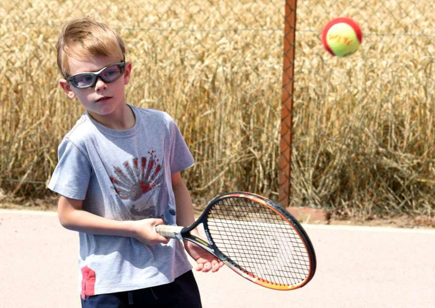 Wisbech Tennis Club taking part of the Great British Tennis Open Day