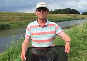 Andy Greenwood with a fine net of roach which gave him a match win on the North level Drain in the Tydd Gote AC Sunday match. KZTpeJ6gYHvTbZataUYK