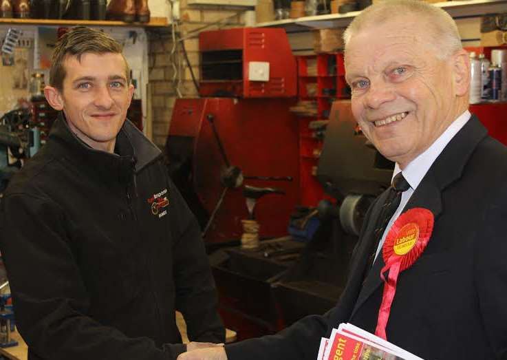 James Elsey meets Dave Baigent, Labour's candidate for the Police and Crime Commissioner