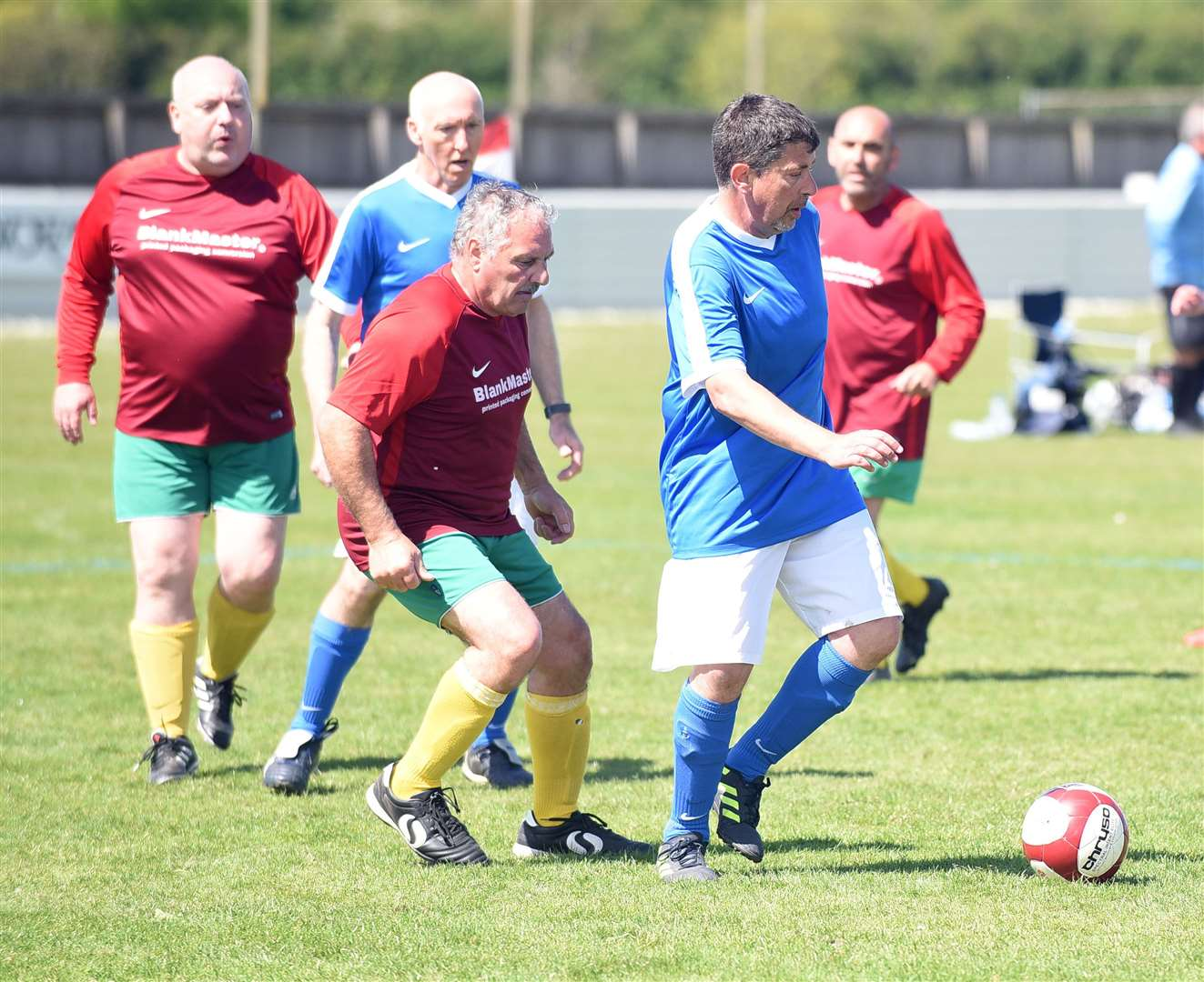 Wisbech Town walking football competition. (10192024)