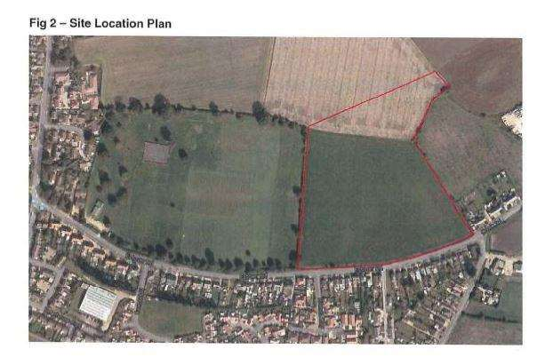 Plans for 95 homes off Estover Road in March have been rejected. (4141121)