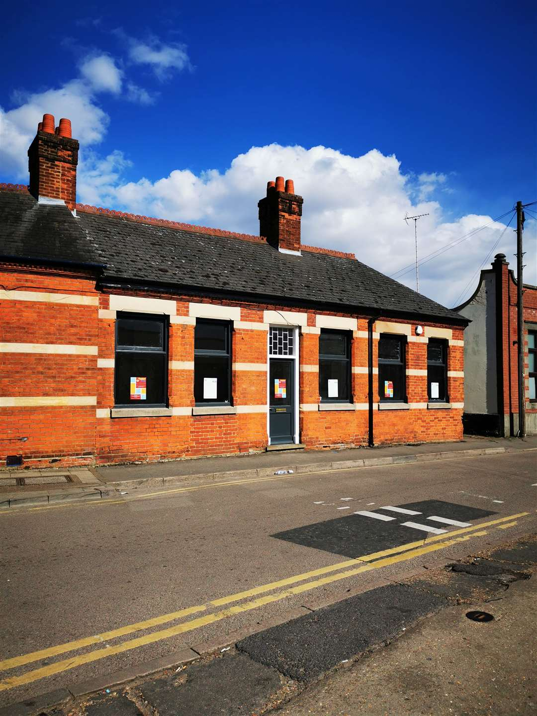 The Community Hub's studio in Alexandra Road, Wisbech.