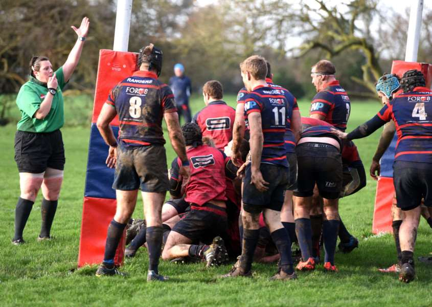 Wisbech rugby 1st XV v Thurston Action ANL-161101-085418009
