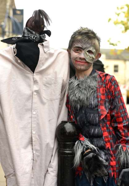 Wisbech Town Centre's Spooktacular Halloween Event''Lucas Norman 8 and Chad Newman 8