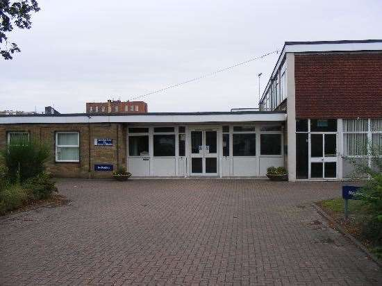 Queen Mary Centre, Wisbech, is being used as a rapid testing centre.