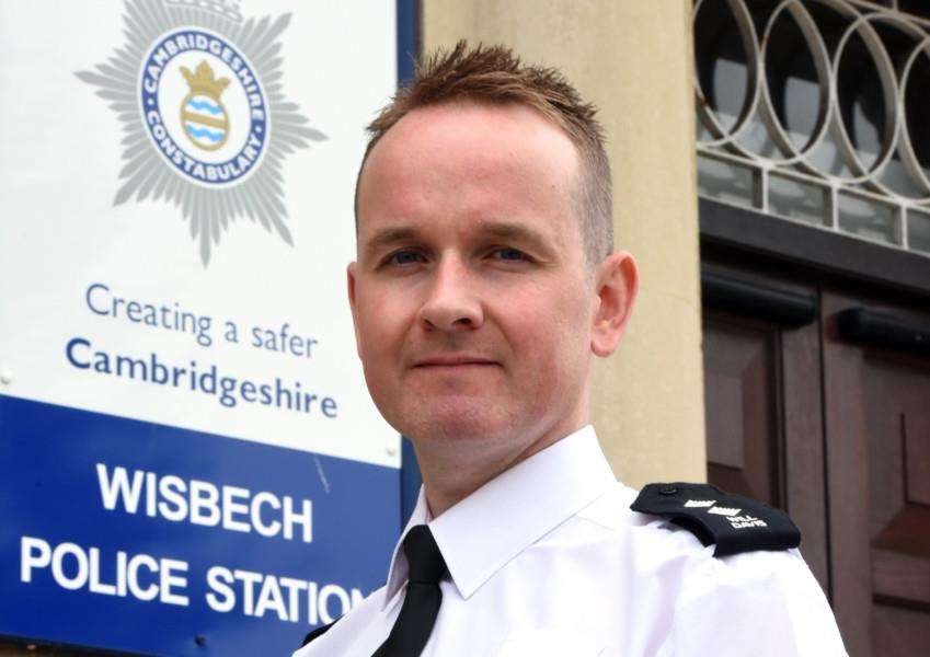 New Police Inspector at Wisbech Will Davis ANL-151008-082232009