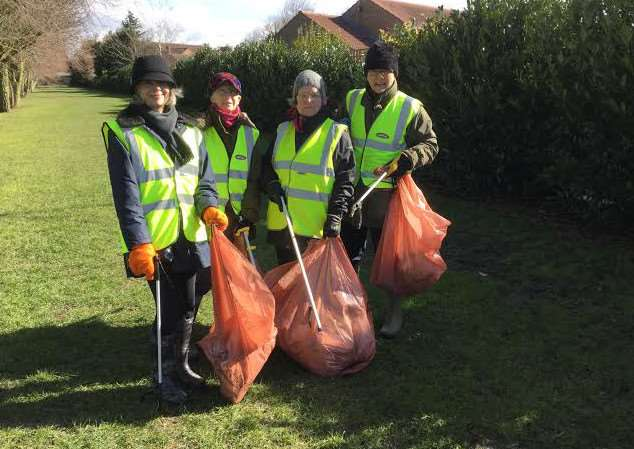 Wisbech St Mary volunteers in action