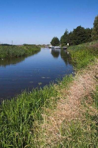 Farmers will be allowed to take water from the River Nene. (11791831)