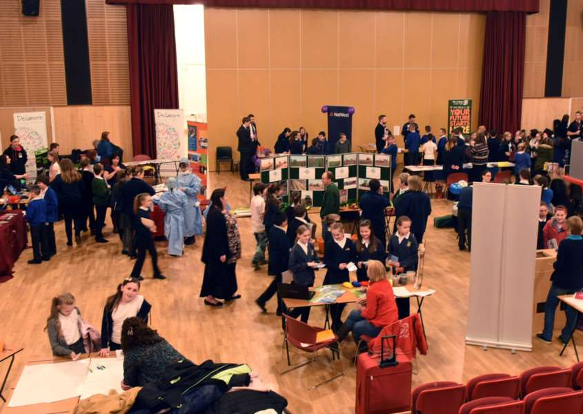 Careers Convention at Thomas Clarkson Academy ANL-160314-151134009
