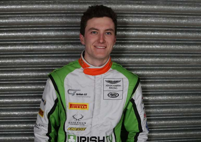 British GT Championship racer Jake Giddings, the 2014 GT4 Class Champion, says he is focused on mounting a realistic podium challenge during the opening event of the new season at Brands Hatch this weekend, 16th/17th April, as he seeks to make the best start possible to his Pro-Am title bid.