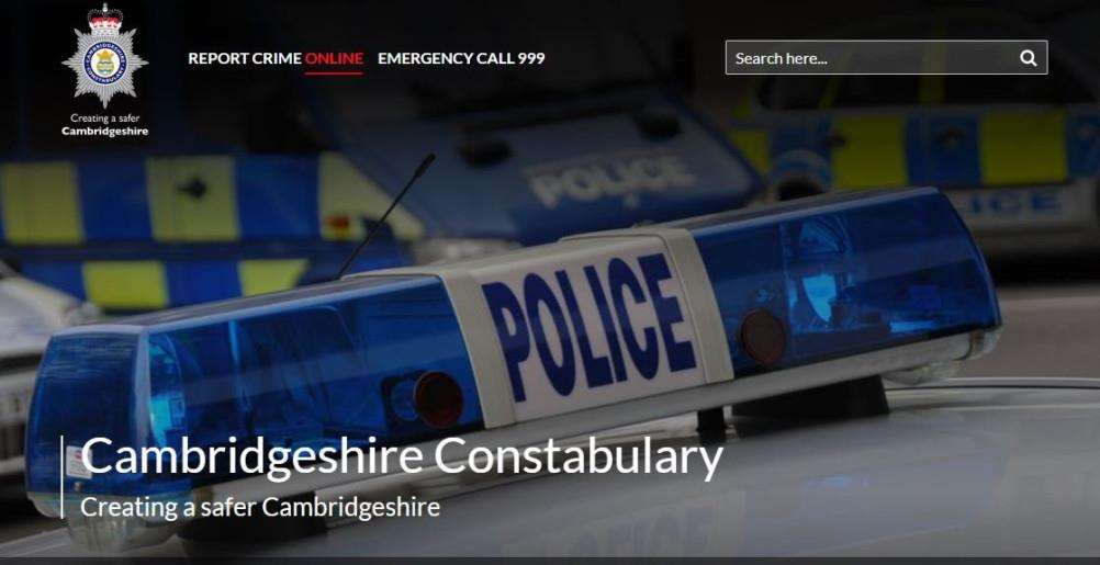 Cambs Police have launched a new website.