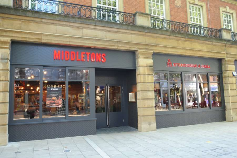 Middletons Streakhouse at Bridge Street. EMN-170109-133028009