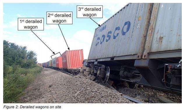 A report has found that a freight train derailed causing massive disruption to rail passengers because its wagons had been poorly maintained. (3449946)