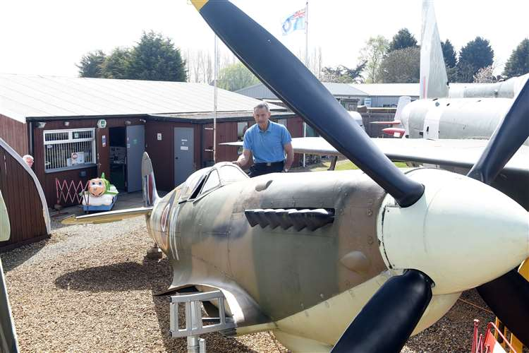 Iconic fighter plane is latest exhibit at Fenland and West