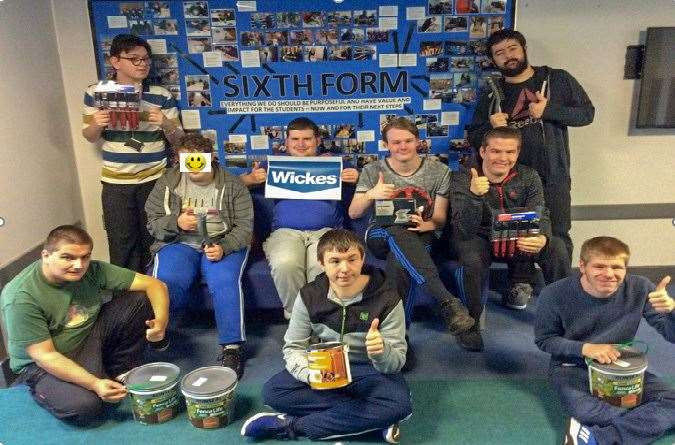 Students enjoyed leaerning about supply at Wickes in Wisbech. (12762894)