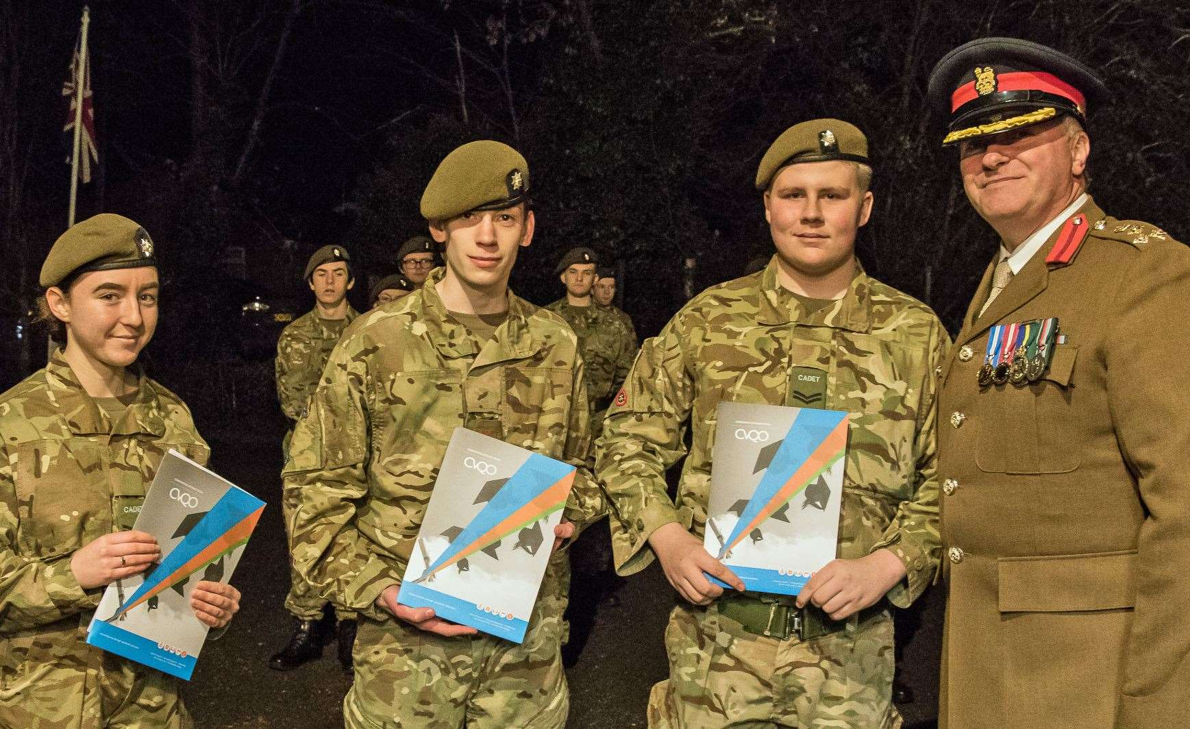 Chatteris Army Cadets and their commander receive awards and