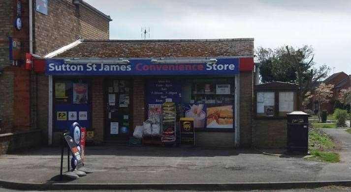 There was an attempted robbery on Sutton St James Convenience Store (21192227)