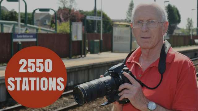 Train station enthusiast David Brewer has visited ALL the UK stations