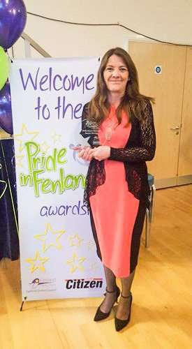 Jayne Denby won the volunteer of the year award in the Pride in Fenland awards in 2016 for her charity work, now she needs the help of others after being diagnosed with terminal cancer.