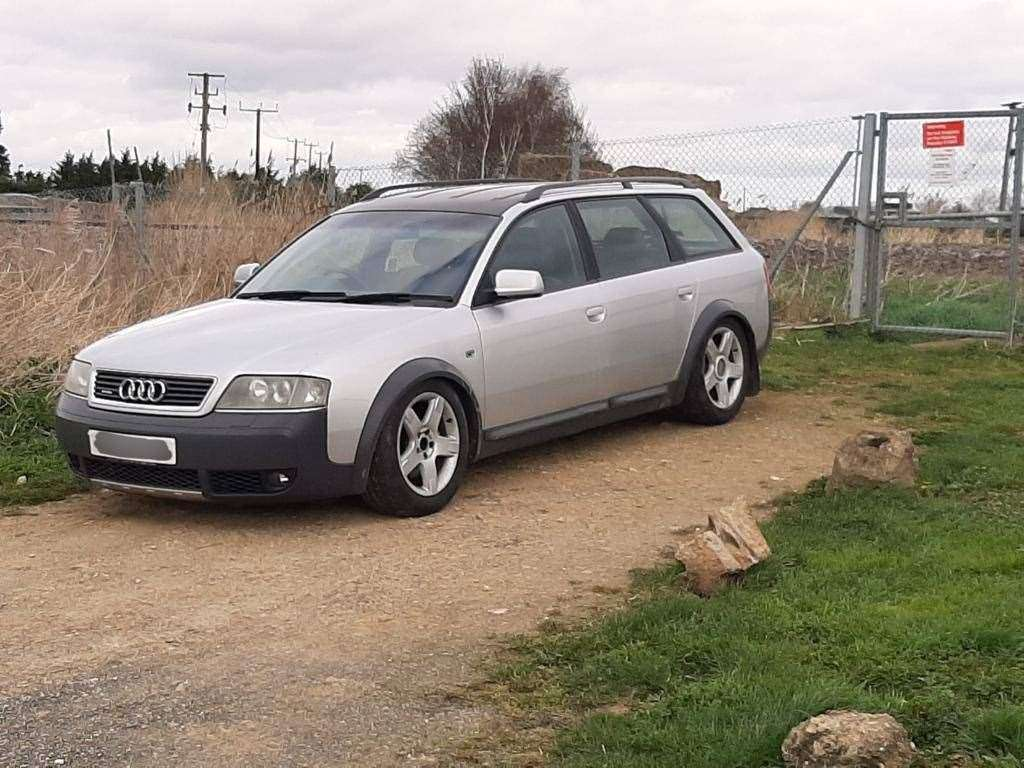 Police gave a tongue in cheek countdown of the top cars seized from hare coursers this season. This Audi Allroad was the latest to be taken on Saturday (14). (31708068)
