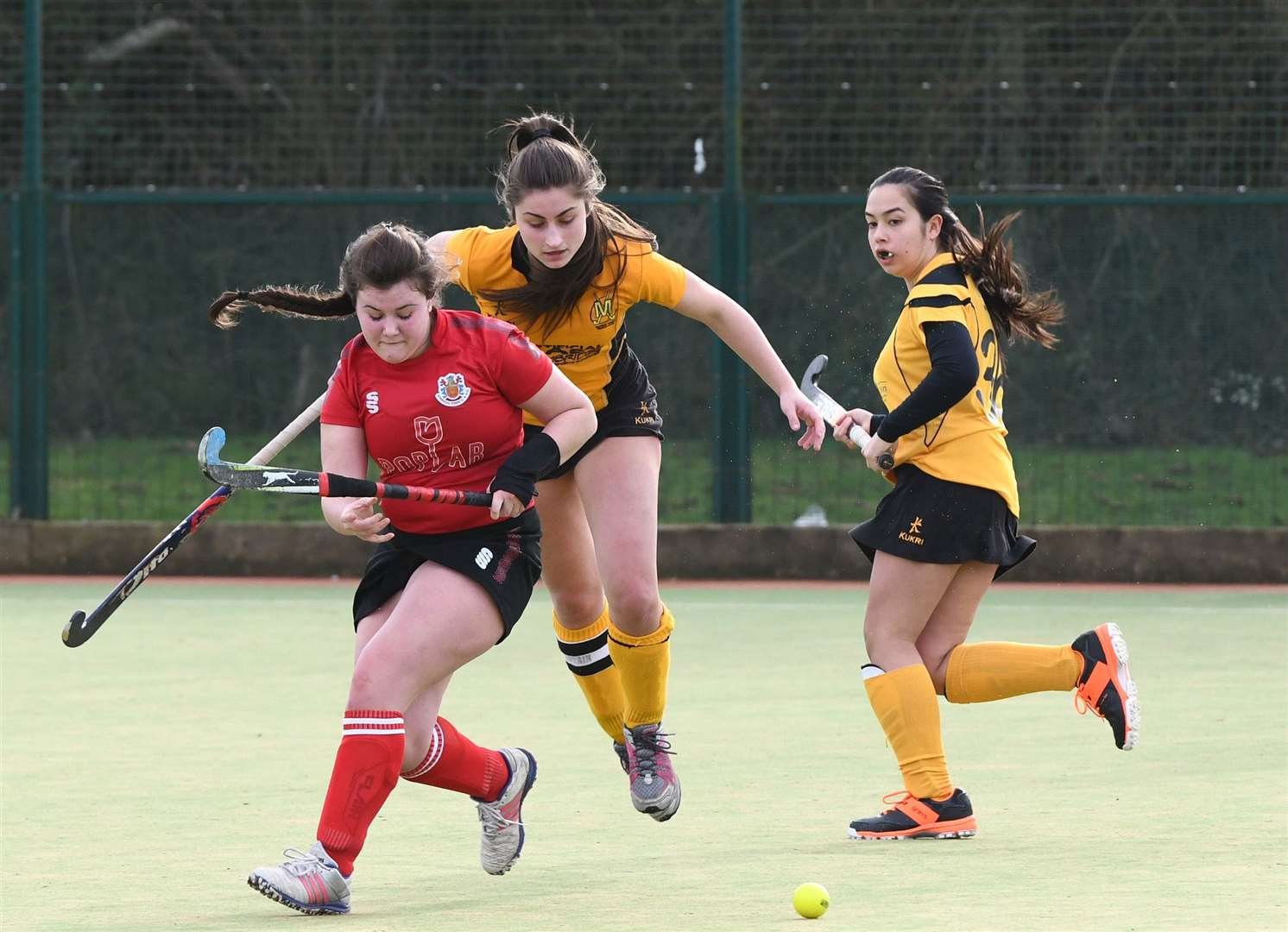 Wisbech Ladies 2nds v March 1st Hockey. (28777768)