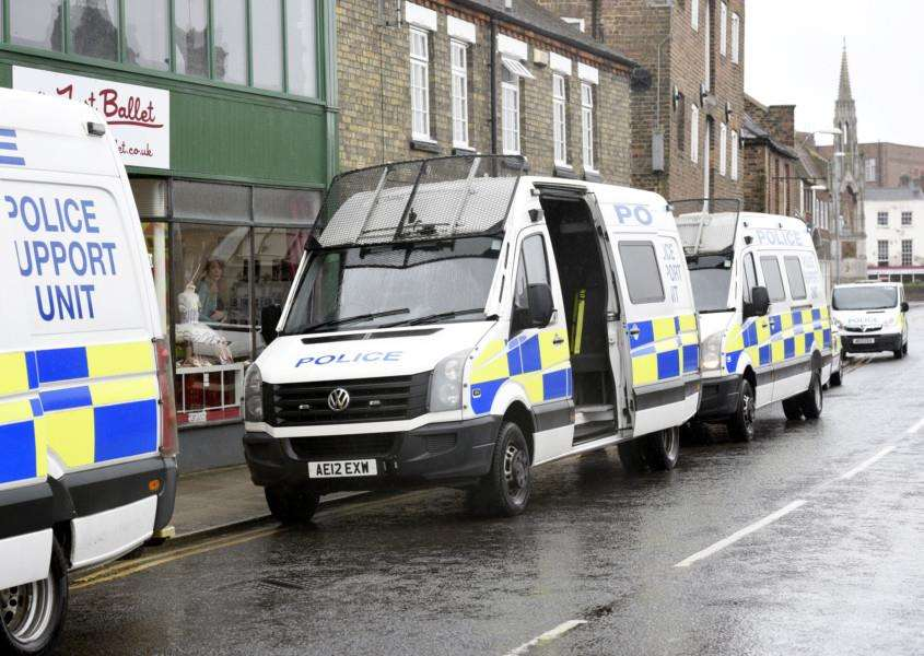 Drugs raid at New Bell Lane in Wisbech